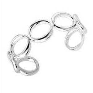 Tiffany and Co Circle 0 cuff in sterling
